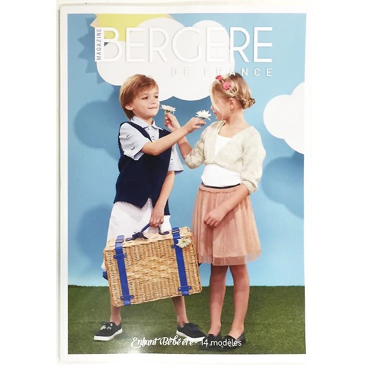 """Magazine n°17 """"Enfant Bébé Été"""" - Bergère de France"""