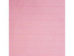 Tissu imprimé - Rose et paillettes or