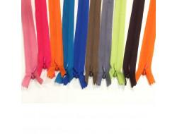 Fermeture à glissière en nylon invisible - 36 coloris