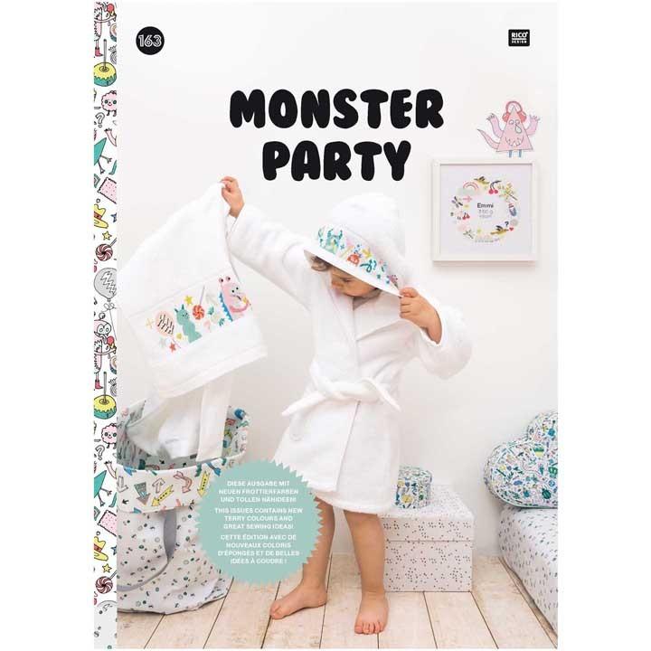 163 - Livre point de croix Monster Party, RICO