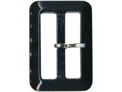 Boucle de ceinture noire 40 mm