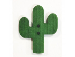 Bouton fantaisie - Cactus