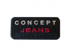 Écusson thermocollant - Concept Jeans Marine