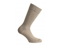 Chaussette Lin - Taupe