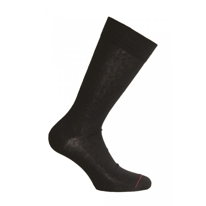 Chaussette Lin - Anthracite