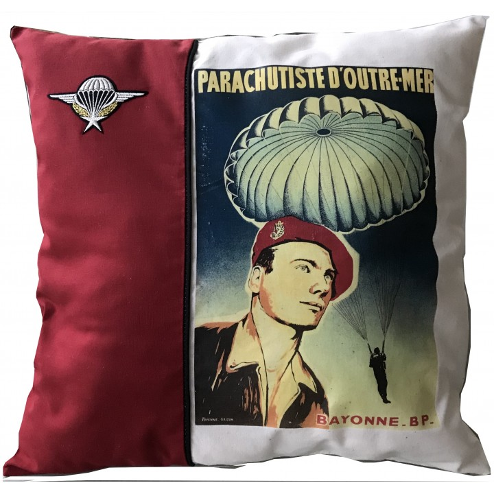Coussin Parachutiste