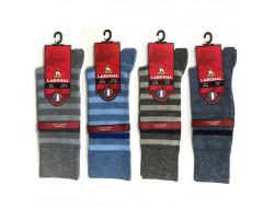 Chaussettes rayées moulinées - Coton