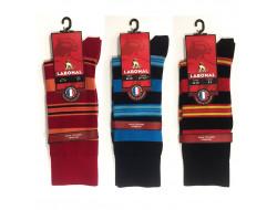 Chaussettes rayées - Coton