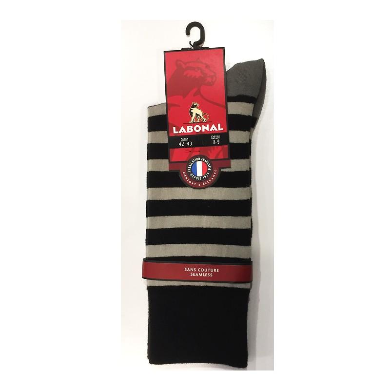 chaussettes ray es sans couture mercerie floriane. Black Bedroom Furniture Sets. Home Design Ideas