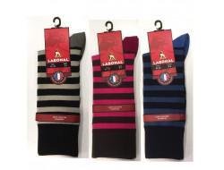 Chaussettes rayées - Sans couture