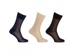 Chaussettes fines - Sans couture