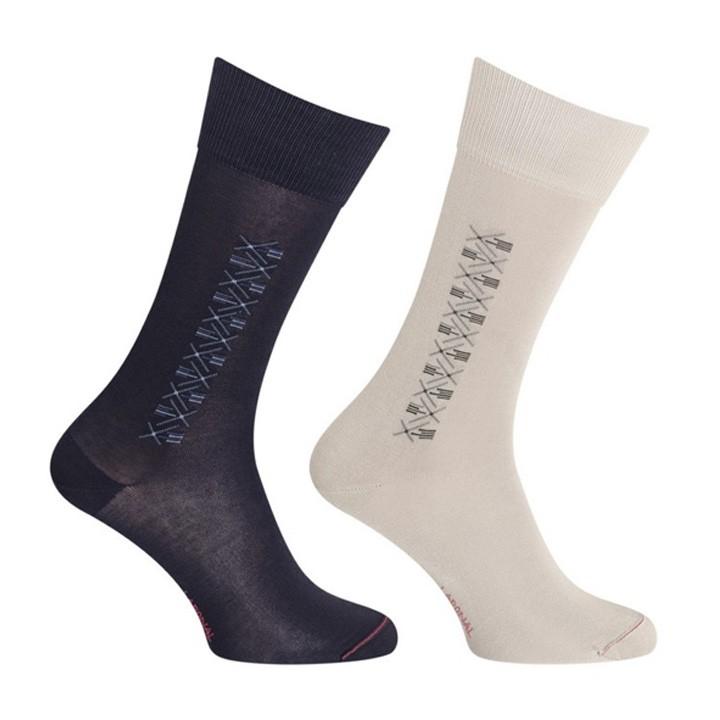 chaussettes motifs g om triques sans couture mercerie floriane. Black Bedroom Furniture Sets. Home Design Ideas
