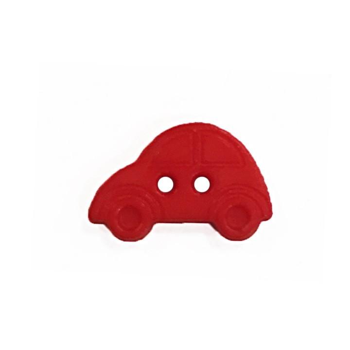 Bouton enfant - Voiture rouge