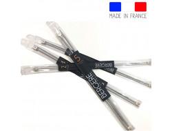 Aiguilles à tricoter  du 2 au 7 mm alumunium 40 cm - Bergère de France