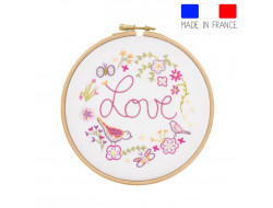 Love love love - kit à broder
