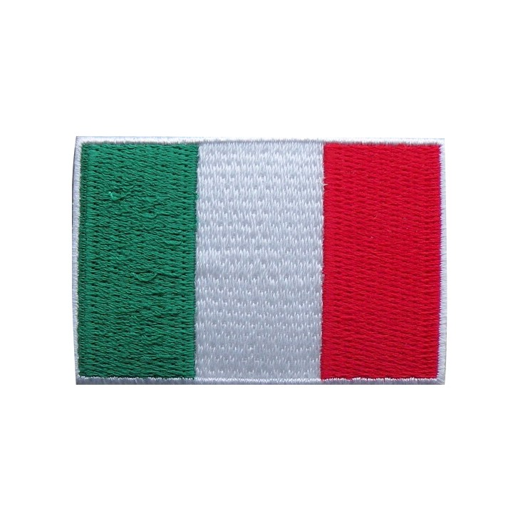 Écusson thermocollant - drapeau Italie