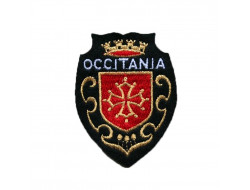 Écusson à coudre croix occitane