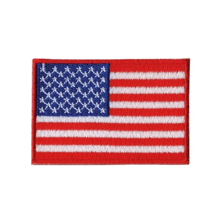 Écusson thermocollant - drapeau USA