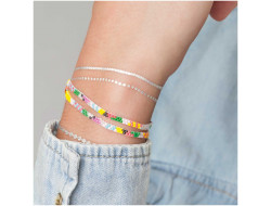 Kit Brick Stitch - Bracelet multicouleur
