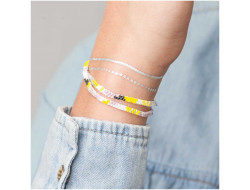 Kit Brick Stitch - Bracelet pastel