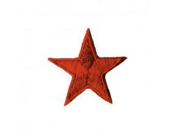 Ecusson thermocollant étoile rouge