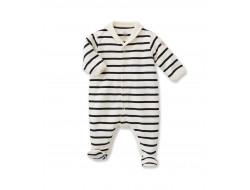 Pyjama Petit Bateau - Col vareuse