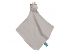 Doudou Lange Chat Gris Les Pachats - Moulin Roty