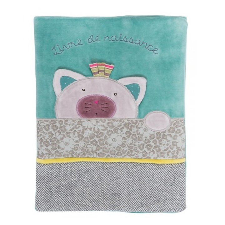 Livre naissance Les pachats - Moulin Roty