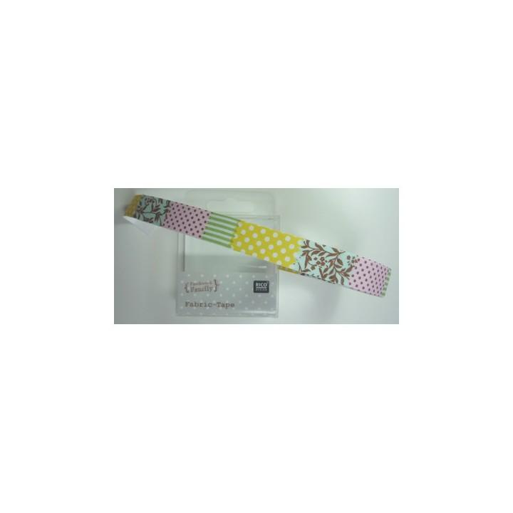 Ruban RICO tissus autocollant patchwork