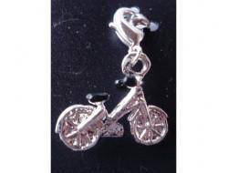 Pendentif bicyclette argent