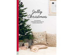 164 - Livre point de croix Jolly Christmas, RICO