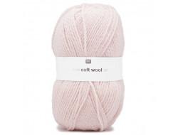 Fil Creative Soft Wool Aran - 75% Acrylique 25% Laine - Rico