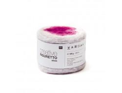 Fil Creative Riguretto aran, 55% acrylique 30% nylon 10% laine 5% mohair - Rico Design