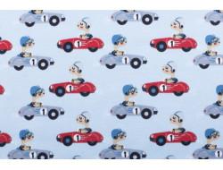 Tissu jersey - voitures de courses