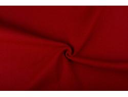 Tissu laine bouillie rouge Hermès