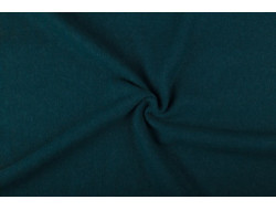 Tissu laine bouillie vert anglais