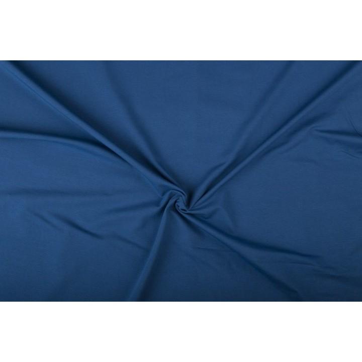 Tissu jersey Bleu jeans