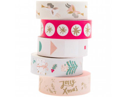 Set Masking tapes - Jolly Christmas Rico