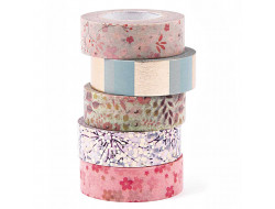 Set Masking tapes - Bouquet Sauvage Rico