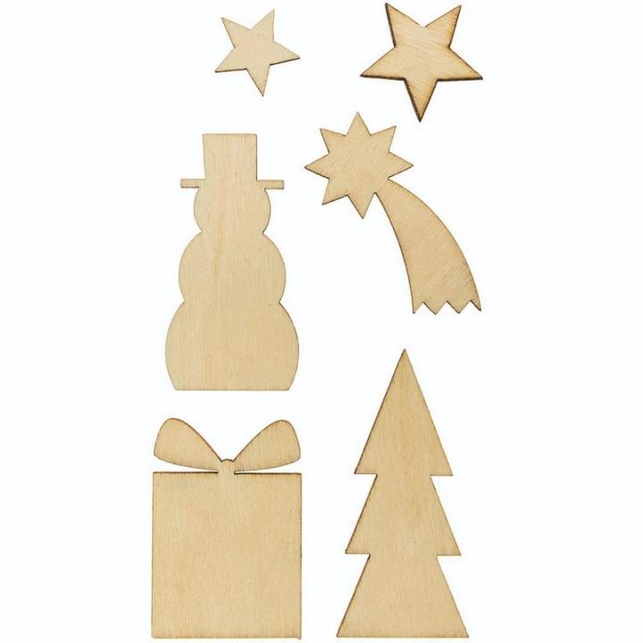 Décoration bois divers Noël