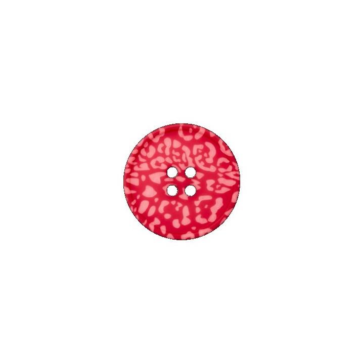 Boutons fleurs roses sur fond rouge