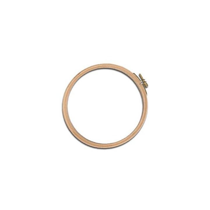 Tambour à broder (ou cercle) en bois