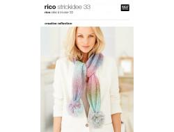 Idée à tricoter N°33 - Rico Design