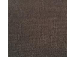 Tissu Canvas Marron foncé