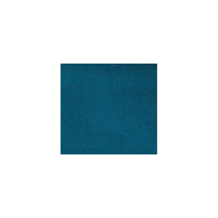 Tissu Canvas uni bleu canard