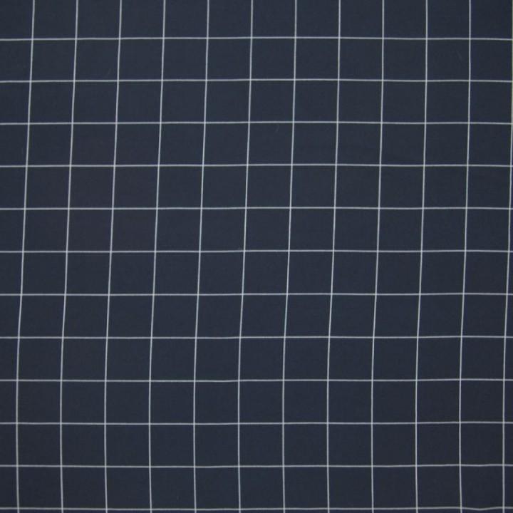 Tissu polyester imprimé marine