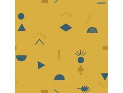 Tissu popeline Prehistoric Coord, Katia fabrics