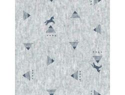 Tissu jersey Unicorn Géo, Katia fabrics