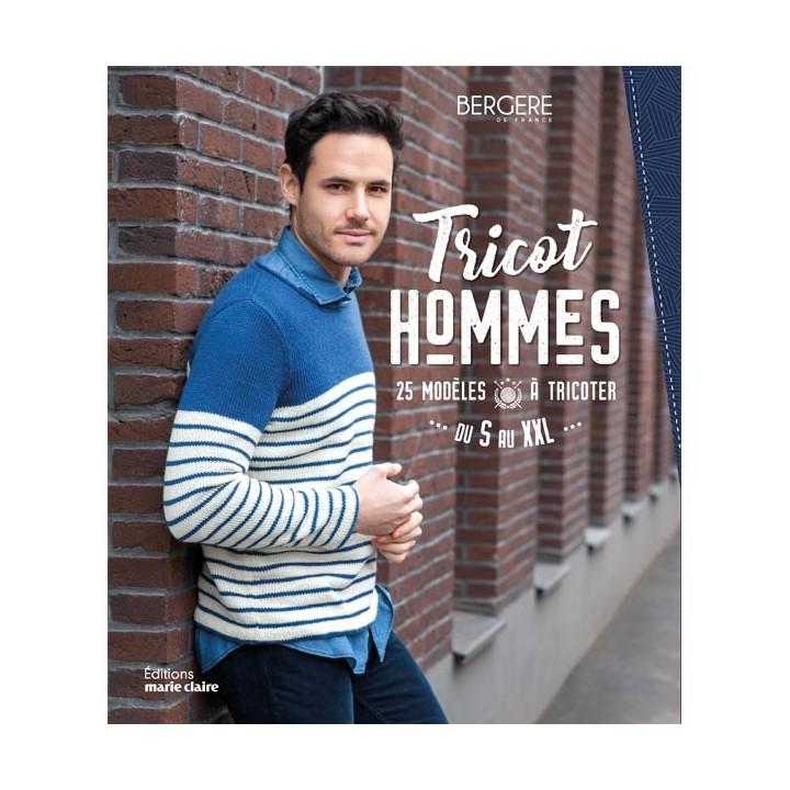 Tricot Hommes - 25 modèles à tricoter du S au XXL