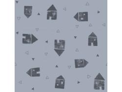 Tissu jersey City Houses, Katia fabrics